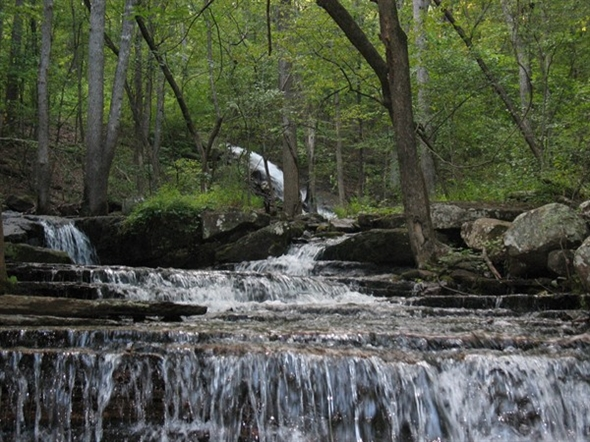 Nothing soothes like running water! Collins Creek, Heber Springs