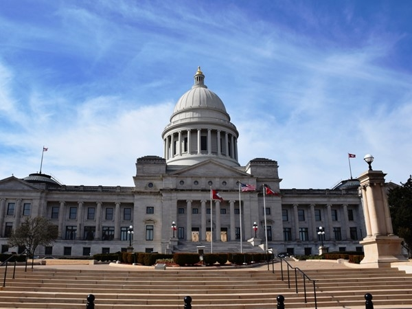 Arkansas' State Capitol Building in Little Rock