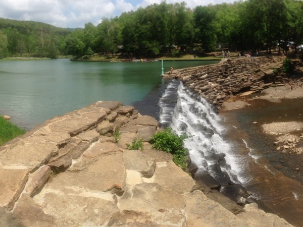 Devils Den is a fantastic nature park in NWA! Caves, hiking trails, a pool, campsites and more!