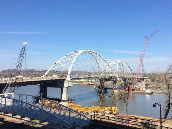 The Broadway Bridge is scheduled to re-open next week