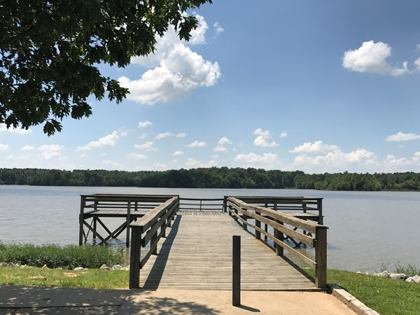 Lake Frierson is a great place for family recreation