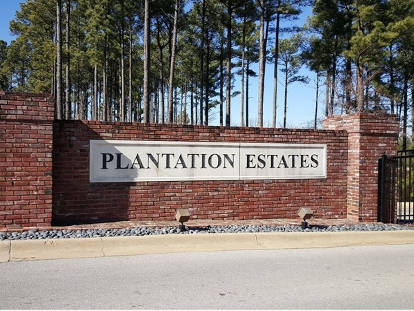 Plantation Estates features beautiful higher end homes in a pleasant setting