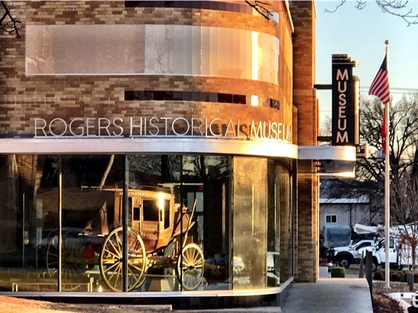 Step back in time with a visit to the Rogers Historical Museum