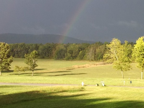 Even our rain storms are beautiful in Harrison