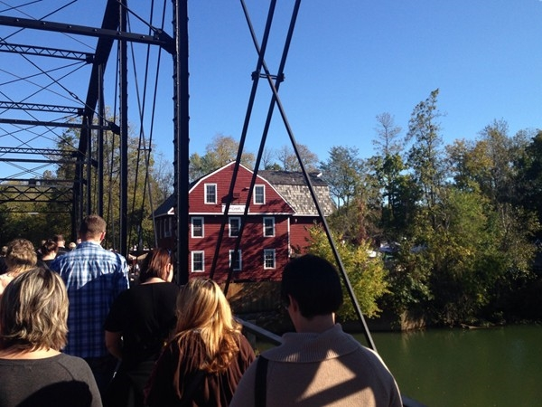 War Eagle Mill is a historical place to enjoy with family and friends