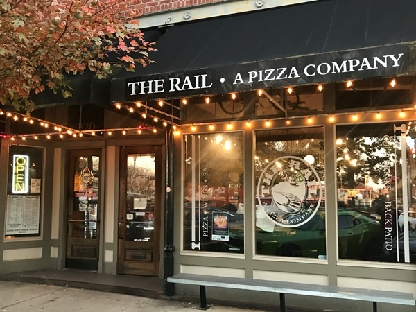 The Rail is my favorite place for pizza in Northwest Arkansas