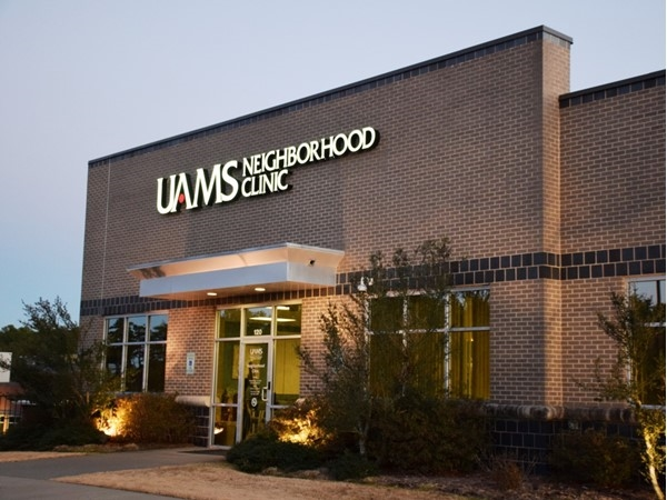 The UAMS Neighborhood Clinic fills the need of a local medical facility for West Little Rock