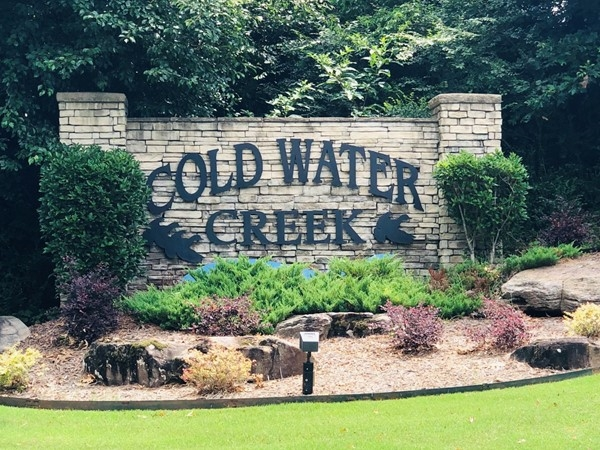 Entrance to Coldwater Creek in Benton. Located in Benton School District