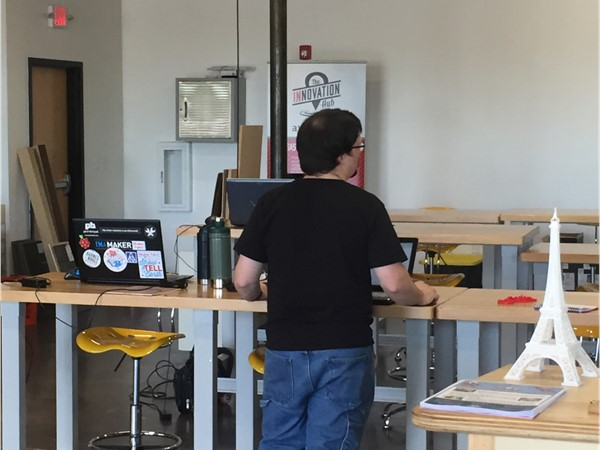 Innovation Hub in Historic Argenta offers Makerspace, Design Space, and Co-Work Space