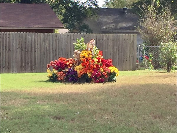 Fall decorations are in full swing in Searcy neighborhoods