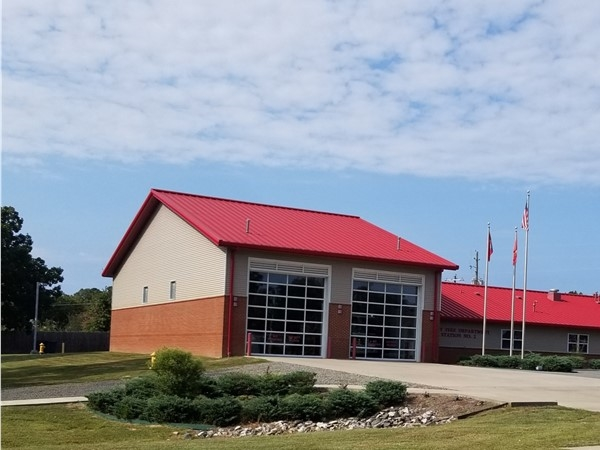 Cabot Fire Department near Magness Creek