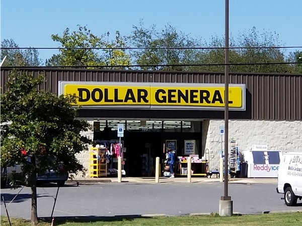 Dollar General on Highway 65 is right down the road from Hunter Heights