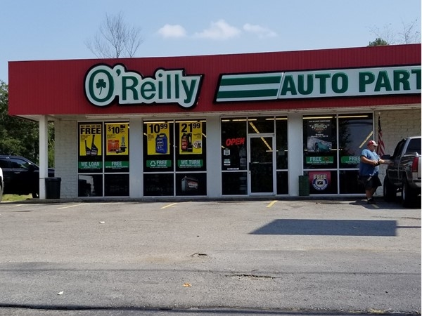 O'Reilly Auto Parts in Greenbrier on Highway 65 near Baywood