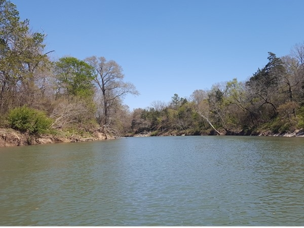 Floating the Ouachita River at Cherry Hill, east of Mena