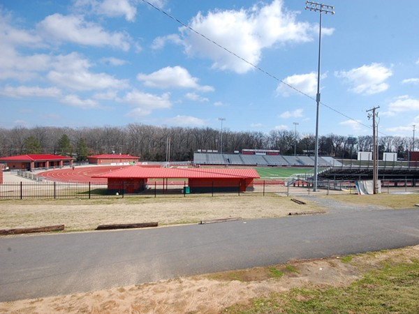 Tracks at the new Cabot Sports Complex