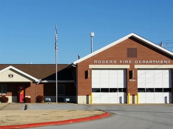 One of seven Rogers fire stations, Station # 6 is at 5701 South Bellview Road