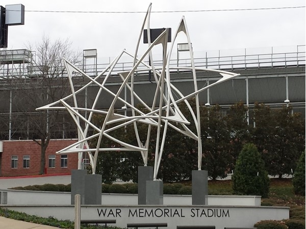 War Memorial Stadium in West Little Rock, built in 1947
