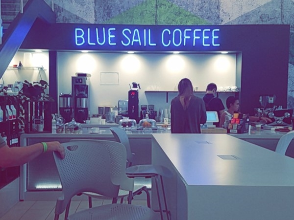 A unique take on a cup of coffee by the River Market in Little Rock! Check out Blue Sail Coffee