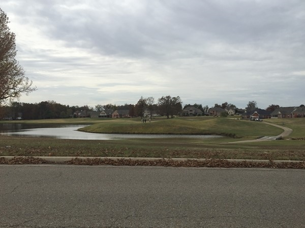 The Village at Sage Meadows lake and golf course