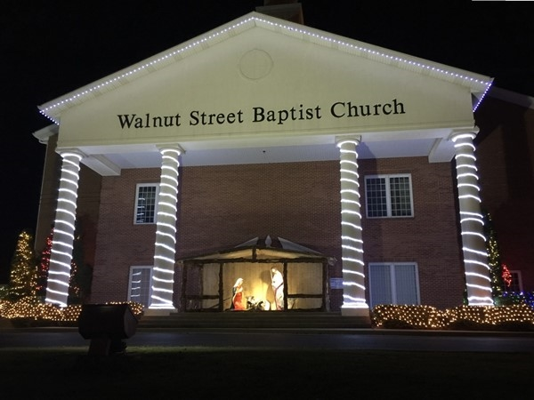 Jesus is the reason for the season at Walnut Street Baptist Church