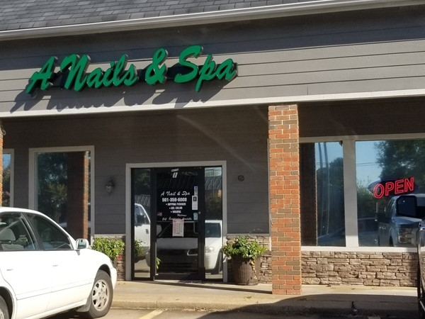 A Nails and Spa when you want to be pampered