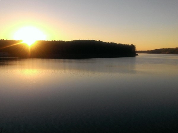 Sunset on Greers Ferry Lake