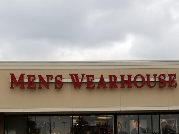 Men's Wearhouse near Lakewood on McCain Boulevard in Little Rock