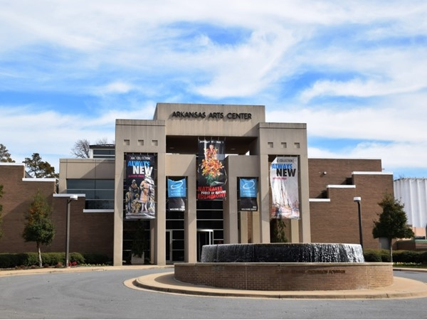 The Arkansas Arts Center is a top-notch art gallery, event center, and holds classes for the public