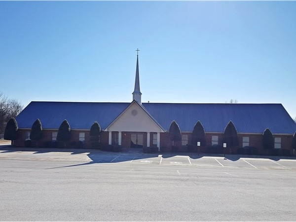 Valley Ridge Baptist Church in the Valley View area of Jonesboro