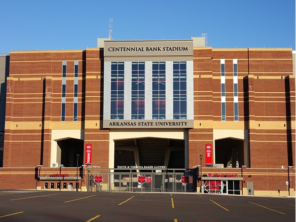 Centennial Bank Stadium at Arkansas State University