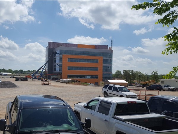 Construction of the new Arkansas Children's Hospital in Springdale