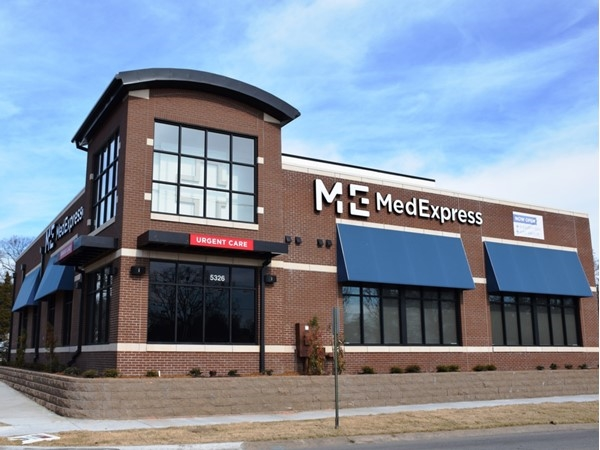 MedExpress is an urgent care facility located on Markham near midtown