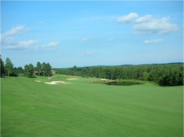 Isabella Golf Course - 9th Fairway of Pinta