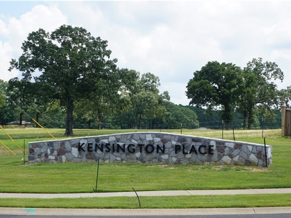 Kensington Place Subdivision in Alexander is located in Saline County