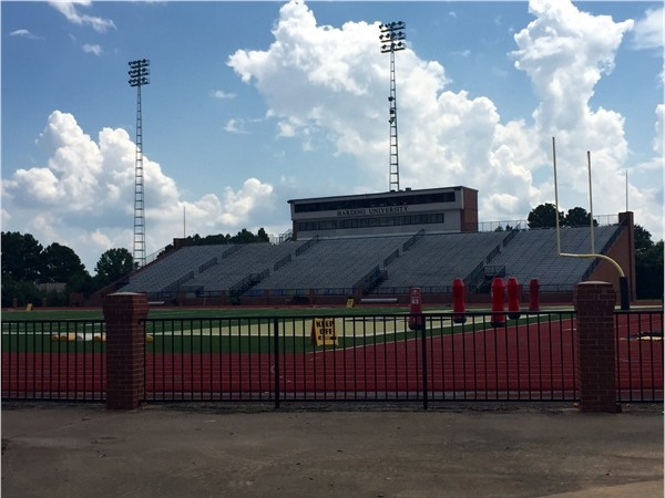 First Security Stadium, located at Harding University in Searcy, is home of the Bisons