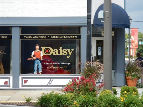 National tourism destinations preserves and promotes Daisy products and artifacts