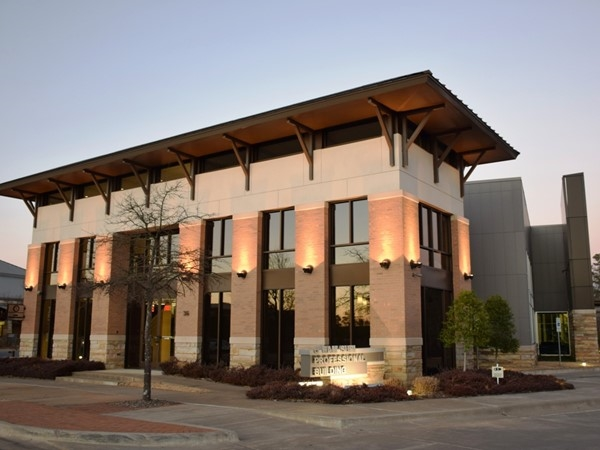 The Ram Suri Professional Building is a great example of West Little Rock contemporary style