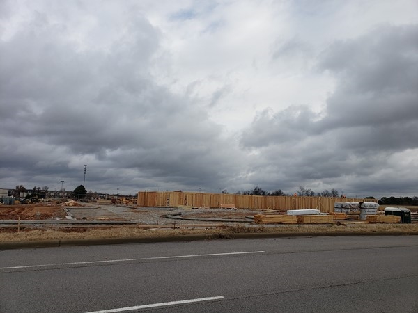 Progress on a new rehabilitation facility off the Pleasant Grove exit