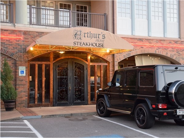 Arthur's Prime Steakhouse is considered one of Little Rock's finest dining experiences