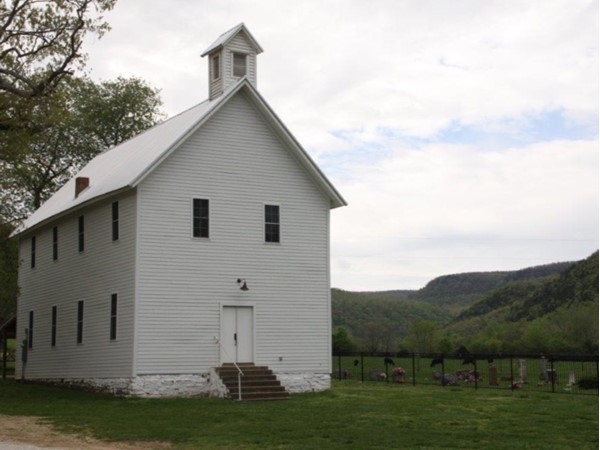 You can almost hear the bell ring. Preserving our history - 1877 Boxley Church/School House