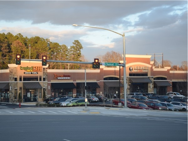 This development recently opened at the corner of Chenal and Kanis - with a gym, cafe, and wine