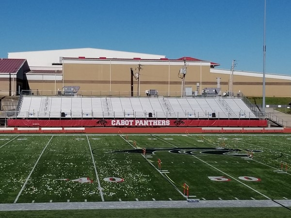 Easter egg drop at Cabot Panther Stadium in Cabot. Organized by a church in Cabot
