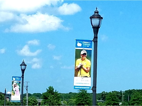 Walmart NW Arkansas LPGA Golf Championship flags