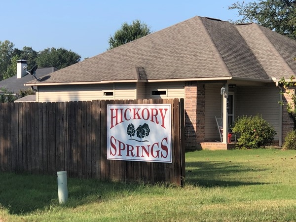 Hickory Springs in Benton is located in Saline County. Harmony Grove Schools