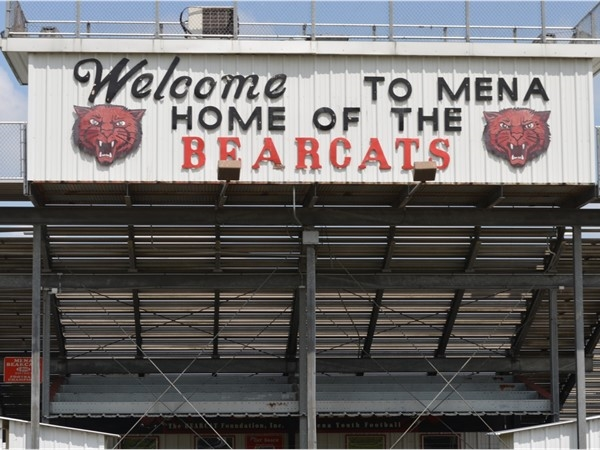 Mena School's Bearcat Stadium